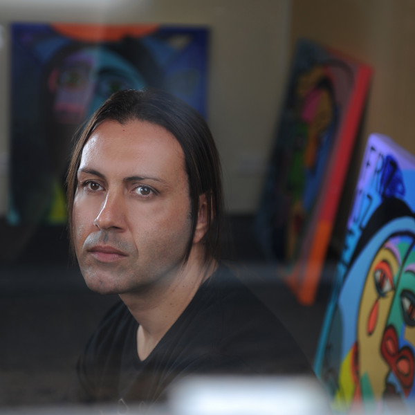 Johnny Romeo Studio Portrait 2012