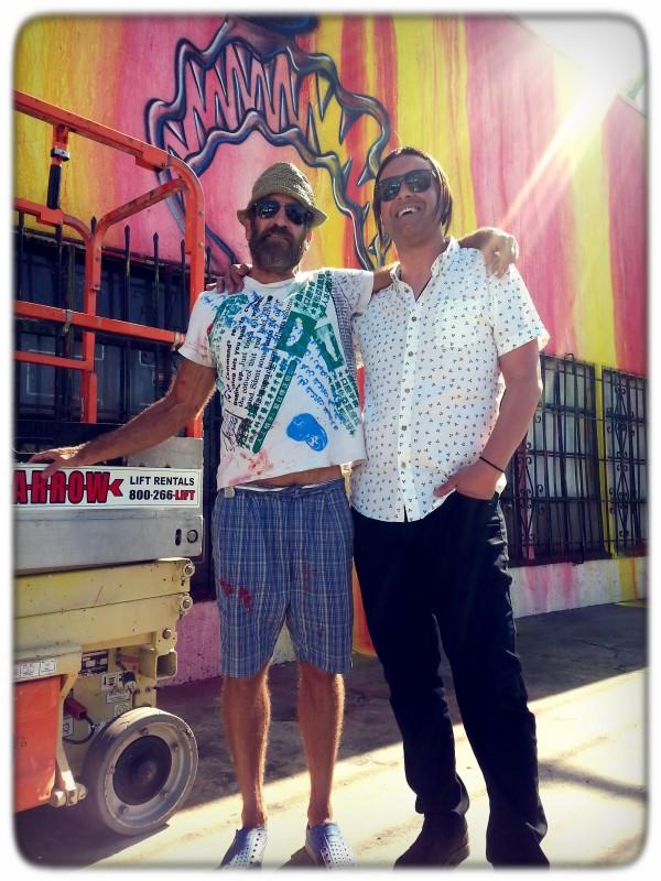Kenny Scharf & Johnny Romeo