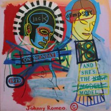 image johnny-romeo-jack-dempsey-on-monday-2007-acrylic-and-oil-on-canvas-71cm-x-71cm-jpg