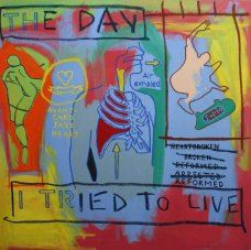 image johnny-romeo-the-day-i-tried-to-live-2007-acrylic-and-oil-on-canvas-101cm-x-101cm-jpg