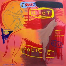 image johnny-romeo-riot-police-2008-acrylic-and-oil-on-canvas-101cm-x-101cm-jpg