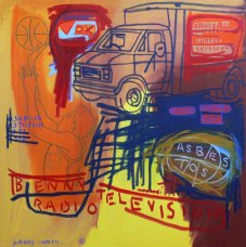 image johnny-romeo-benny-radio-television-2008-acrylic-and-oil-on-canvas-101cm-x-101cm-jpg