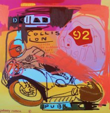 image johnny-romeo-dollar-collision-public-2008-acrylic-and-oil-on-canvas-101cm-x-101cm-jpg