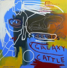 image johnny-romeo-galaxy-cattle-2008-acrylic-and-oil-on-canvas-101cm-x-101cm-jpg