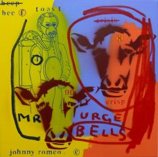 image johnny-romeo-mr-urge-bells-2008-acrylic-and-oil-on-canvas-61cm-x-61cm-jpg