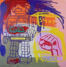 image johnny-romeo-shot-scar-2008-acrylic-and-oil-on-canvas-101cm-x-101cm-jpg