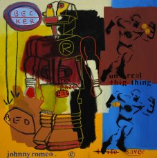 image johnny-romeo-becker-bed-2009-acrylic-and-oil-on-canvas-61cm-x-61cm-jpg
