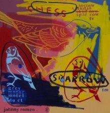 image johnny-romeo-chess-sparrow-2009-acrylic-and-oil-on-canvas-61cm-x-61cm-jpg