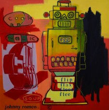 image johnny-romeo-cooker-neck-soup-2009-acrylic-and-oil-on-canvas-61cm-x-61cm-jpg