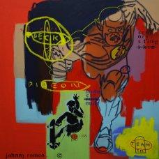 image johnny-romeo-deck-pigeon-2009-acrylic-and-oil-on-canvas-76cm-x-76cm-jpg