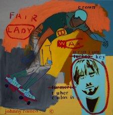 image johnny-romeo-fair-lady-wax-2009-acrylic-and-oil-on-canvas-61cm-x-61cm-jpg