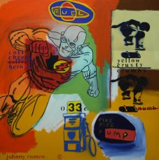 image johnny-romeo-fuel-pike-pipe-pump-2009-acrylic-and-oil-on-canvas-76cm-x-76cm-jpg