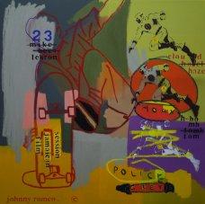 image johnny-romeo-hoax-police-greys-2009-acrylic-and-oil-on-canvas-76cm-x-76cm-jpg