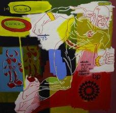 image johnny-romeo-hulk-swarm-2009-acrylic-and-oil-on-canvas-101cm-x-101cm-jpg