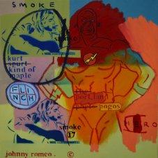 image johnny-romeo-smoke-flinch-hero-2009-acrylic-and-oil-on-canvas-61cm-x-61cm-jpg