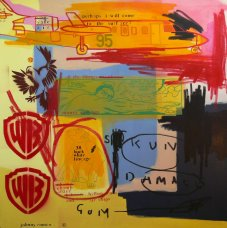 image johnny-romeo-skun-damage-gum-2009-acrylic-and-oil-on-canvas-137cm-x-137cm-jpg