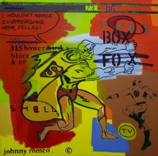 image johnny-romeo-fuse-box-shell-2009-acrylic-and-oil-on-canvas-61cm-x-61cm-jpg