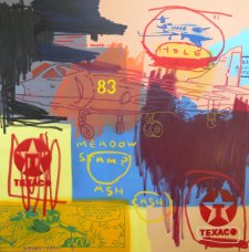 image johnny-romeo-meadow-stamp-ash-cash-2009-acrylic-and-oil-on-canvas-137cm-x-137cm-jpg