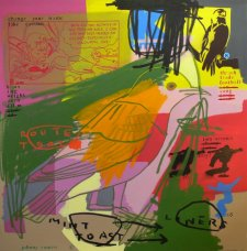 image johnny-romeo-mint-toast-liners-2009-acrylic-and-oil-on-canvas-137cm-x-137cm-jpg