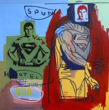 image johnny-romeo-spun-hotel-808-2009-acrylic-and-oil-on-canvas-101cm-x-101cm-jpg