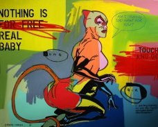image johnny-romeo-song-bird-2010-acrylic-and-oil-on-canvas-150cm-x-120cm-jpg