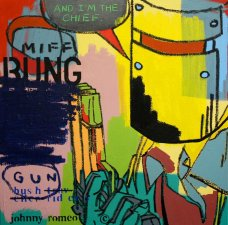 image johnny-romeo-miff-bung-gun-2010-acrylic-and-oil-on-canvas-61cm-x-61cm-jpg