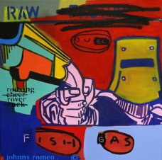 image johnny-romeo-raw-duel-fish-gas-2010-acrylic-and-oil-on-canvas-61cm-x-61cm-jpg