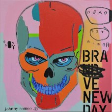 image johnny-romeo-dead-set-easy-rider-2011-acrylic-and-oil-on-canvas-71cm-x-71cm-jpg