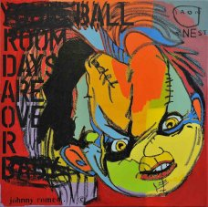 image johnny-romeo-iron-nest-2011-acrylic-and-oil-on-canvas-71cm-x-71cm-jpg