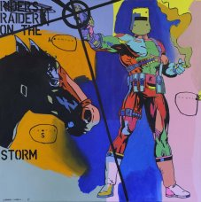 image johnny-romeo-armour-castle-hustle-2012-acrylic-and-oil-on-canvas-200cm-x-200cm-jpg