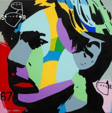 image johnny-romeo-neo-silver-laker-2015-acrylic-and-oil-on-canvas-120cm-x-120cm-jpg