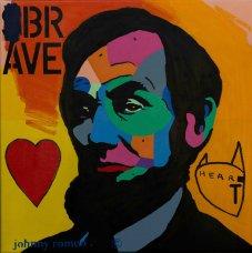 image johnny-romeo-brave-heart-2016-acrylic-and-oil-on-canvas-61cm-x-61cm-jpg